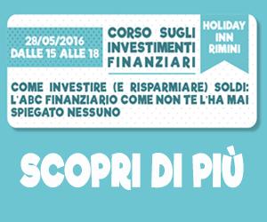 Corso sugli investimenti finanziari - 28-05-2016