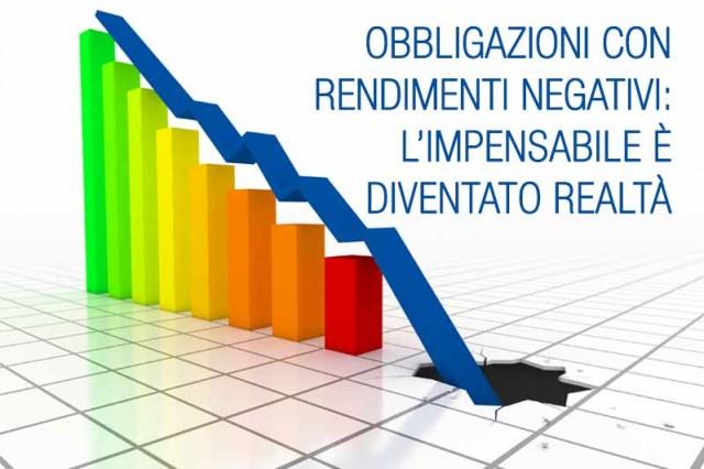 Obbligazioni con rendimenti negativi