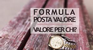 Formula Posta Valore di Poste Italiane