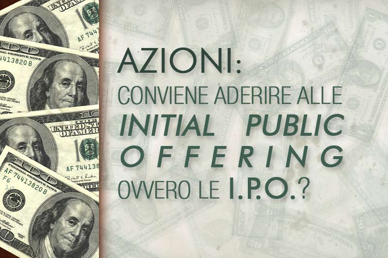I.P.O. - Initial Public Offering